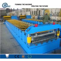 China Automatic Metal Steel Panel Roof Sheet Roll Forming Machine Roof Tile Making Machine on sale