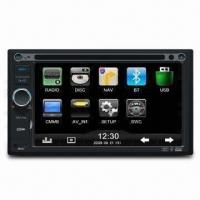 In-dash DVD Player with Car Navigation System, Built-in Bluetooth and ISO Cable Connector Manufactures