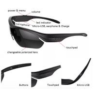 China Fashion Wireless Bluetooth Headset Sunglasses for Driving and Outdoor Sports on sale