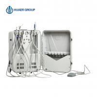 China portable dental unit price dental portable turbine unit with air compressor inside on sale