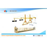 Customized Movable Safety Window Cleaning Platform , ZLP500 1.5KW 6.3KN Swing Stage