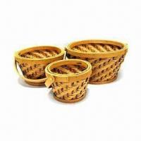 Wooden Basket, Various Sizes, Shapes and Colors are Available, Can Be Used as Gift Manufactures
