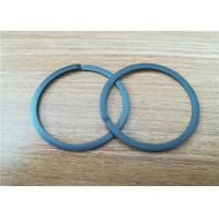 China Custom Filled PTFE Flat Washer Guide Ring Wear Resistant Compressor Parts on sale