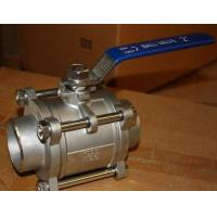 Cheap Class 1000 WOG Full  Bore Type Ball Valve As MSS SP-110 Standard for sale