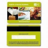 China Hico Magnetic Card with Double-sided Offset Printing, Measures 86 x 54 x 0.76mm on sale