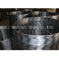 CBT65 Galvanized Razor Fence Wire Anti Rust Used For Mesh Fence Factory Manufactures