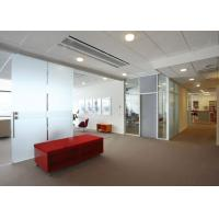 Nano Coated Tempered Glass Panel Partition Walls Ultra Clear Manufactures