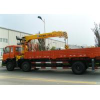 Cheap Durable 10T Hydraulic Boom Truck Crane For Lifting And Transporting for sale
