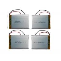 Customized Rc Helicopter Battery / 3.7 V 3000mah Lipo Battery , Long Cycle Life Manufactures