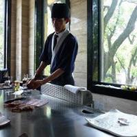 Restaurant Cooking Equipment/Teppanyaki Grill with Iron Plate Processing Technology Manufactures