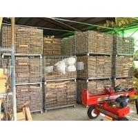 Foldable Supermaket Electro Zinc Plated Wire Mesh Storage Containers Manufactures
