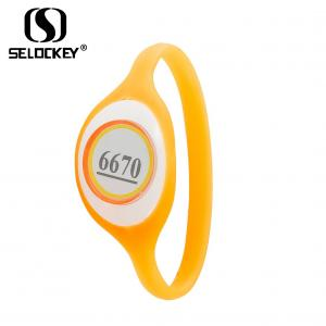 China Printable F08 13.56Mhz Silicone Rfid Wristband Ibutton And Smart Cards on sale