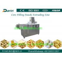 China SS304 Cheese / Corn Puff Snack Extruder Food Production Line / Machinery on sale
