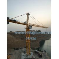 Cheap 16000kg QTZ315 7030 Chinese Tower Cranes With Load Moment Indicator for sale