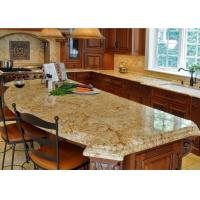 China Light Beige Block Granite Stone Kitchen Countertops / Sparkly Granite Worktops on sale