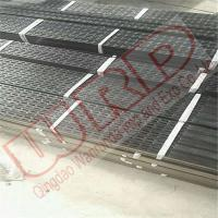 China 100x40x3mm x L:3000mm Punshed holes Rectangular steel tube with natural perforated surface on sale