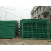 weaving low carbon steel Wire Mesh Fence for seaport , garden , feeding Manufactures
