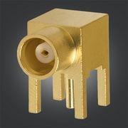 Buy cheap 50 / 75ohm MCX PCB Connector MCX Female Right Angle Jack For PCB Mount from wholesalers