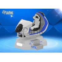 Quality Cool FRP Material 3D Car Racing Simulator / Electric Dynamic System 9D VR Ride for sale