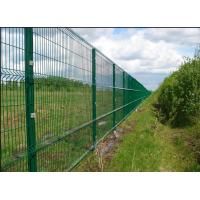 Easy Install 3D Curved Welded Mesh Fence Welded Utility Fence For Public Grounds Manufactures