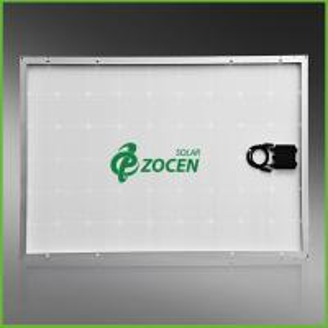 Cheap CHUBB Insured 240W Monocrystalline Solar PV Panels , Silver Aluminum Frame for sale