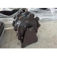 China Customized Backhoe Compaction Wheel , Excavator Trench Compactor Easy Clean For CAT320 on sale
