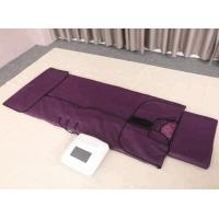 Lymph Drainage Far Infrared Sauna Blanket With 3 Zone Digital Controller Manufactures