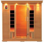 4 Person Carbon Fiber Far Infrared Sauna Room (SMT-041PA) Manufactures