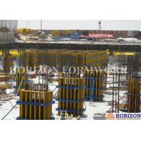 Steel Waling Wall Formwork Systems , Column Formwork Systems For Commercial Towers