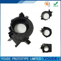 Small Batch Vacuum Casting Plastic Parts Black Color High Accuracy +/-0.05mm Manufactures