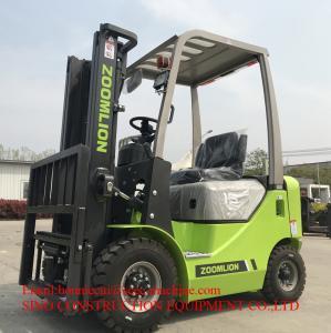 3.5 Ton 20 km/h  Diesel Forklift Truck ISUZU Engine Container Manufactures