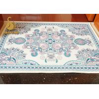 PVC Dots Backing Cooking Anti Slip Floor Mats Needle Punched Non Woven Printed Manufactures