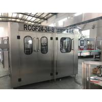 8000BPH Automatic Mineral Water Filling Machine With Pet Bottle Manufactures