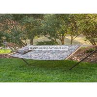 Camouflage Outdoor Quilted Tree Stand Alone Hammock With Stand Solid Hardwood Bar Manufactures