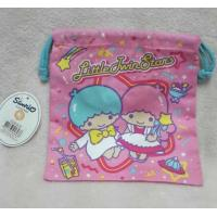Kids Jewelry Storage Cloth Drawstring Bags Embroidery Logo With Hand Rope Manufactures