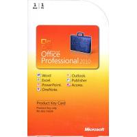 Original Microsoft Office 2010 Professional Retail Box With Active Key Label Manufactures