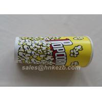 Unfolded 380ml Disposable Ice Cream Paper Cups With Logo Printed 90 * 60 * 110mm Manufactures