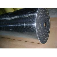 China Sticky Acoustic Insulation Materials With Glass Fabric 10mm Heat Insulation on sale