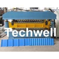 Double Layer Corrugated IBR Roll Forming Machine For Two Different Profiles Manufactures