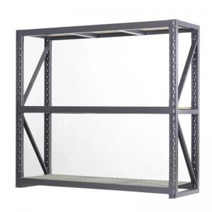 KD 2 Layer Metal Heavy Duty 200cm Metal Office Bookshelf Manufactures