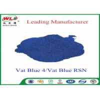 High Stability Indigo Blue Dye Textile Dyeing Chemicals Water Resistant Manufactures