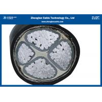 China Underground Cable with XLPE Insulated / 4 Cores Aluminium Low Voltage Power Cable(Armoured) (CU/XLPE/LSZH/DSTA) on sale
