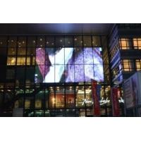 P10 Video Outdoor Transparent Glass LED Screen CE / ROHS Certification Manufactures