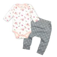 Infant / Toddlers Pure Cotton Baby Clothes Girl Summer Clothing Sets Manufactures
