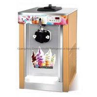 3 Flavors Table Top Soft Serve Ice Cream Machine With LED Display Manufactures