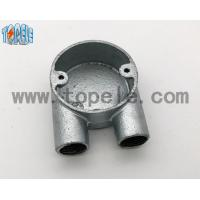 BS4568 Gi Conduits And Accessories Two Way U Junction Box Casting Technics Manufactures