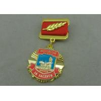 Zinc Alloy Die Casting Custom Awards Medals , Military Medals With Hard Enamel Manufactures