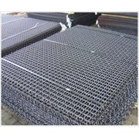 Professional stainless steel woven wire mesh / fence with Square Hole Manufactures