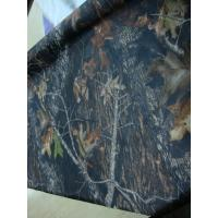 210D 125T oxford fabric with camo printing PU coating Manufactures