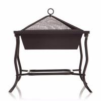 42cm large square Iron patio brazier bbq grill for home garden picnic Manufactures